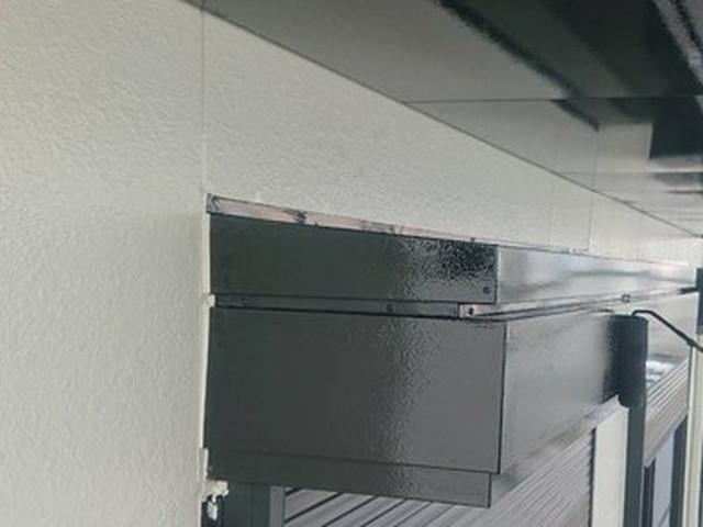 外壁塗装 付帯部塗装 シャッターボックス
