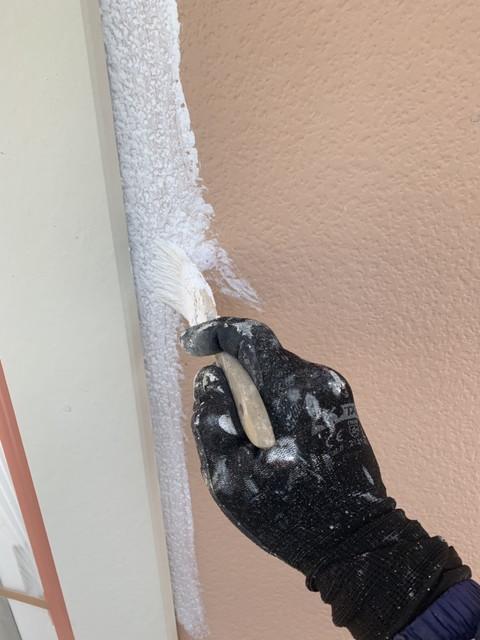 外壁下塗りダメ込み