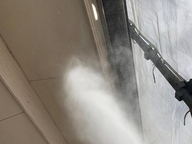 外壁塗装 高圧洗浄 軒天井