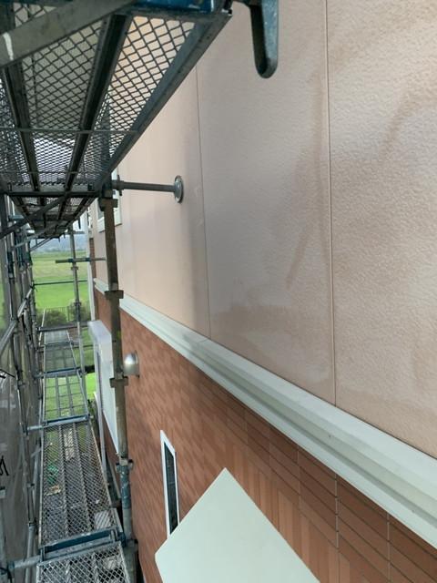 高圧洗浄後外壁