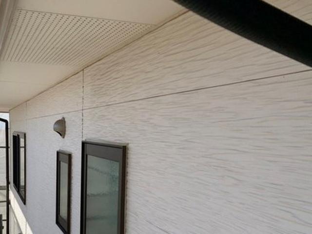 外壁塗装 高圧洗浄後