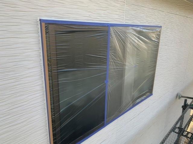 外壁塗装 下地処理 窓