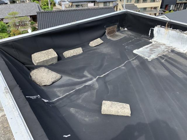 屋上防水施工前