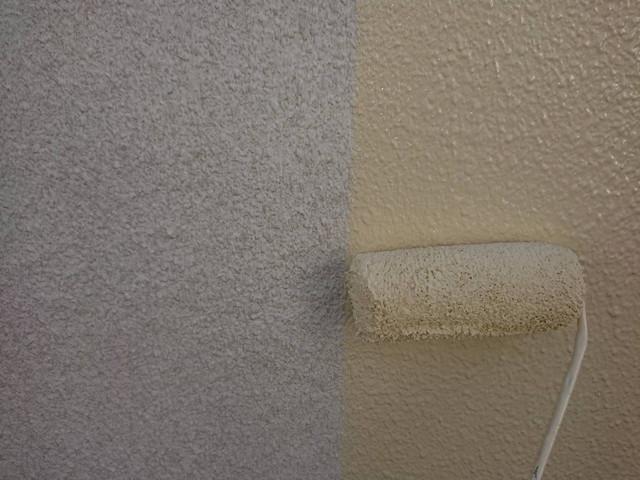 外壁中塗り ファインフッソ