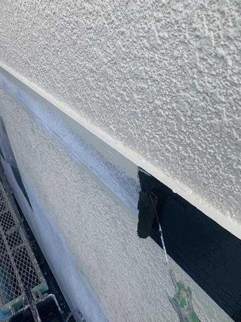 外壁塗装 付帯部塗装 幕板