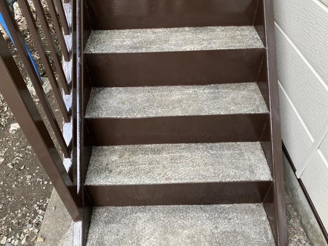 階段 上塗り