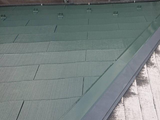 リフォーム 屋根塗装 中塗り