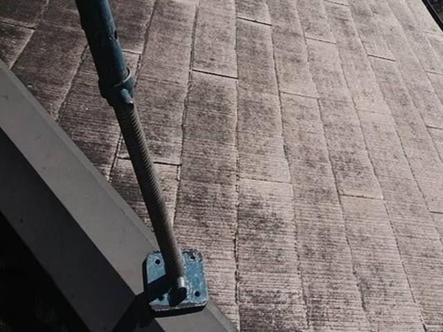 塗装工事 屋根 高圧洗浄後