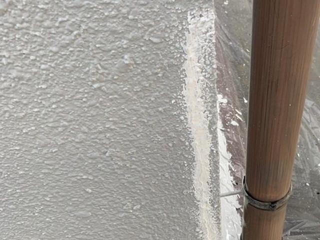 外壁塗装 下地調整 ヒビ補修