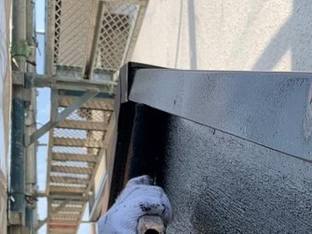 外壁塗装 付帯部塗装 破風板