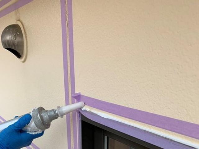 外壁塗装 コーキング工事 コーキング剤充填