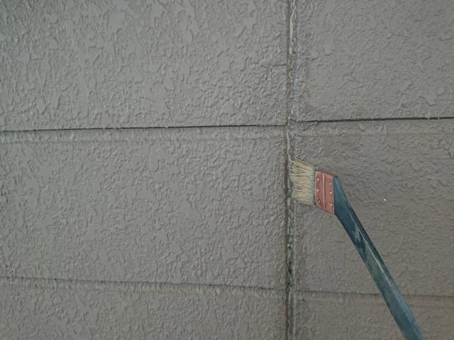外壁塗装前 コーキング工事