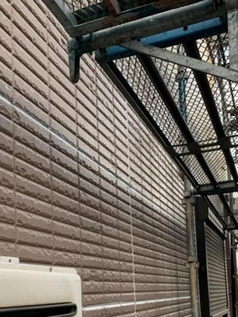 外壁塗装 コーキング工事 完了