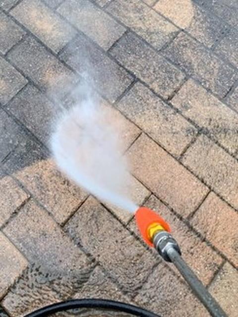 外壁塗装 高圧洗浄 アプローチ