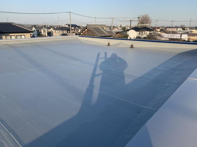 屋上防水塗り替え