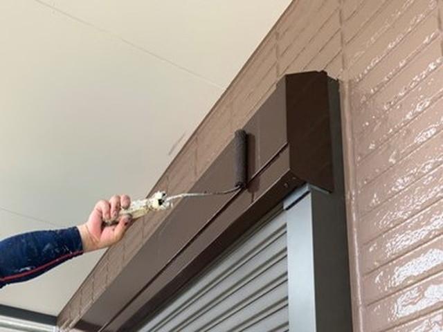 外壁塗装 付帯部塗装 戸袋