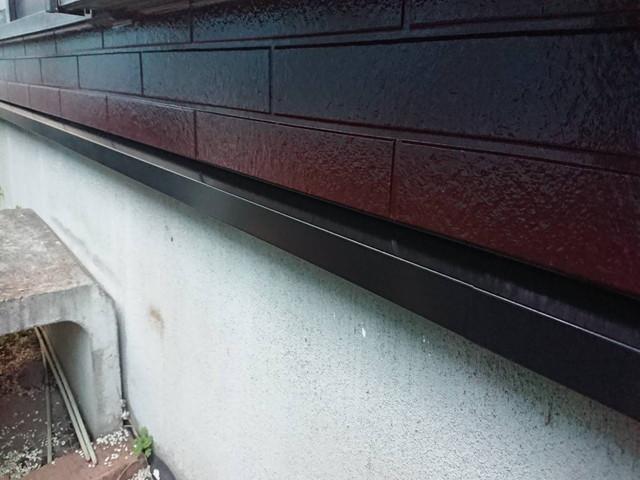 土台水切り塗装
