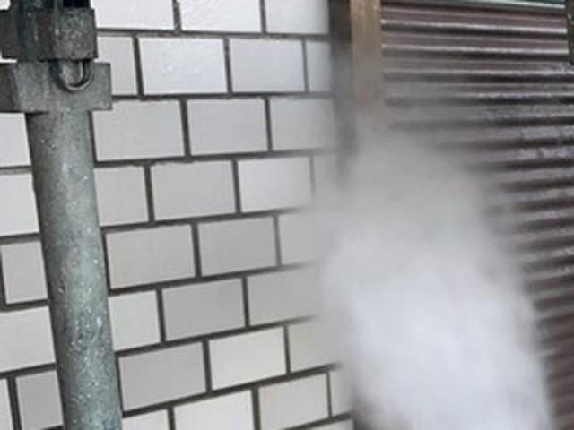 外壁塗装 高圧洗浄 壁