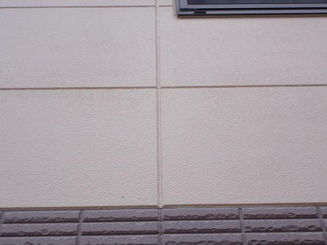 外壁塗装 現地調査 サイディング 劣化 ヒビ