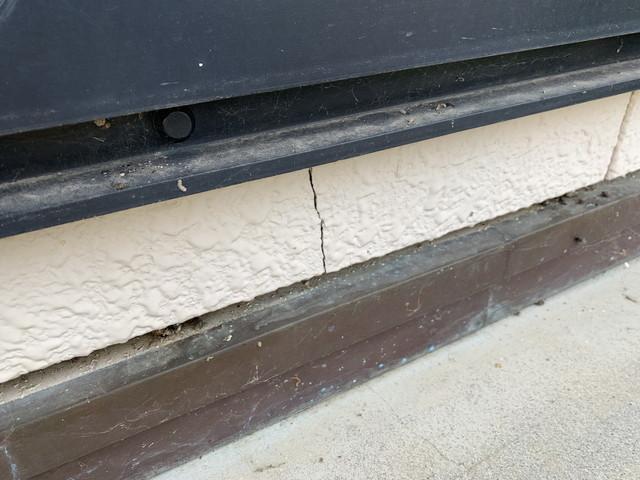 外壁リフォーム 現地調査 サイディング 劣化 ヒビ