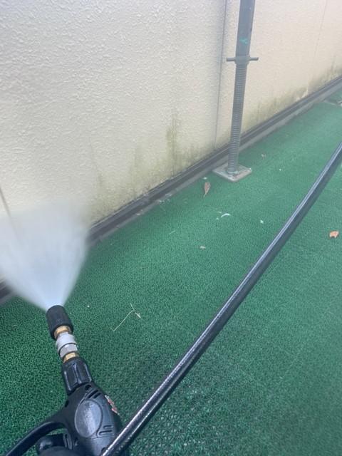 外壁塗装前 高圧洗浄