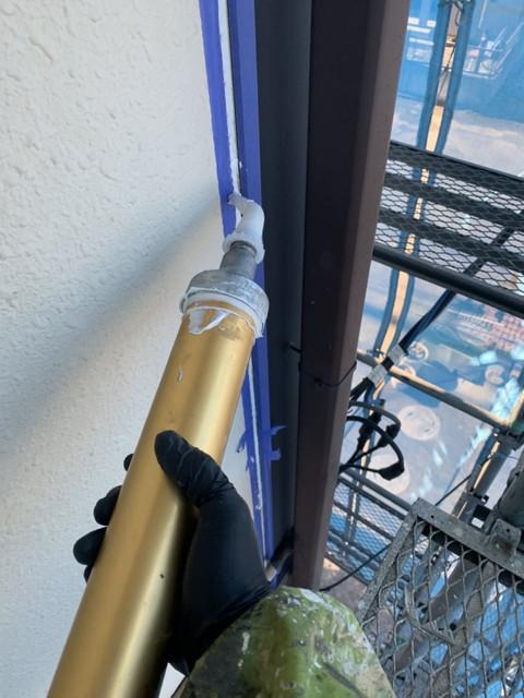 外壁塗装工事 コーキング工事 コーキング剤充填