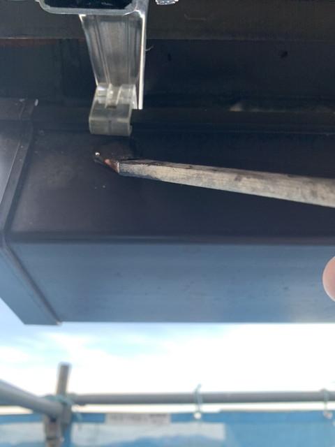 外壁塗装 付帯部塗装 軒樋 細部