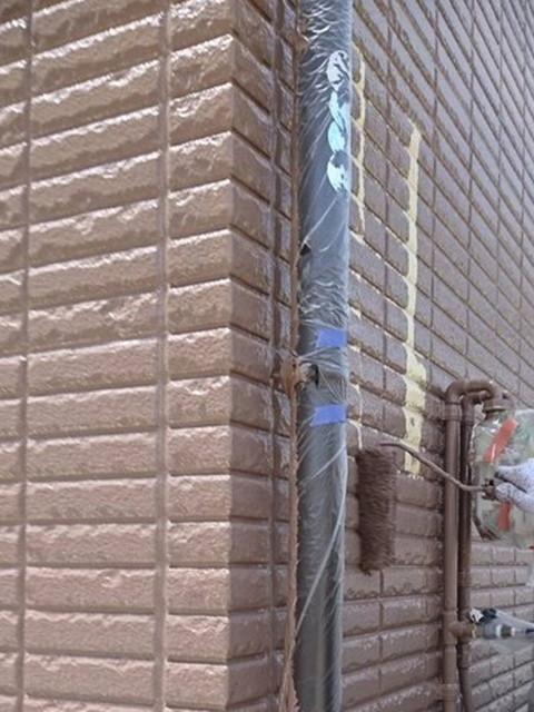 外壁塗装 上塗り 仕上げ塗り
