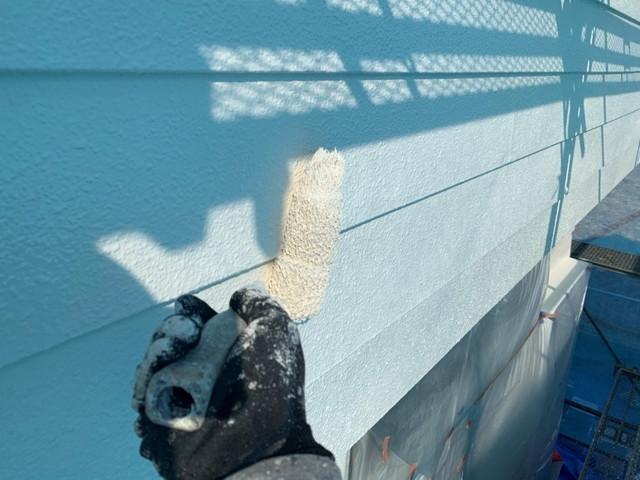 外壁塗装 上塗り 壁