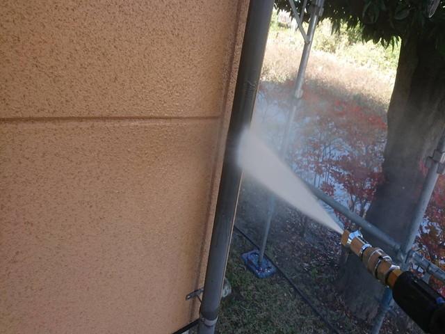 外壁塗装 高圧洗浄 竪樋