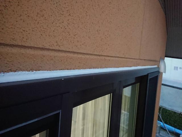 外壁塗装 下地調整 サッシ廻り