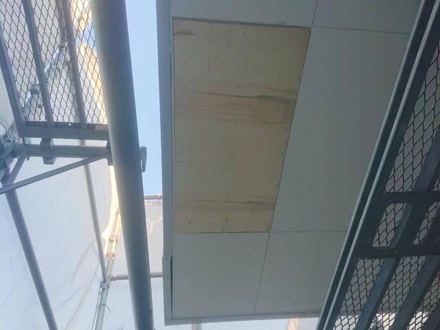 軒天井上張り