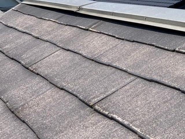 現地調査 屋根 化粧スレート 棟板金 浮き 劣化