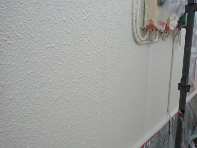 中塗り塗装後