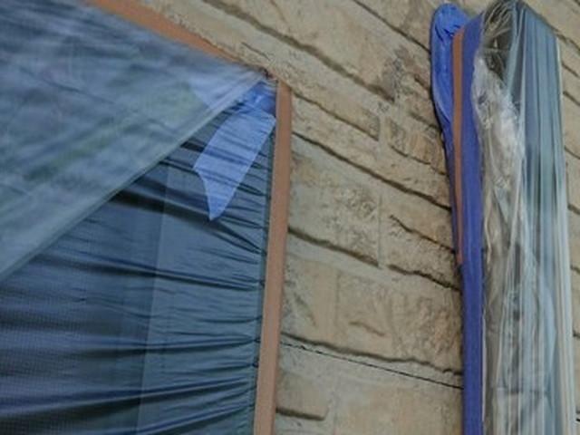 リフォーム 外壁塗装 養生 付帯部