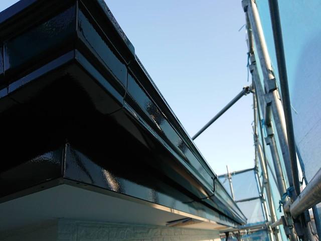 外壁塗装 付帯部塗装 雨樋 軒樋