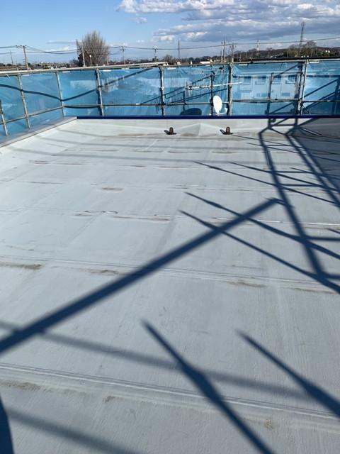 屋根補修完了