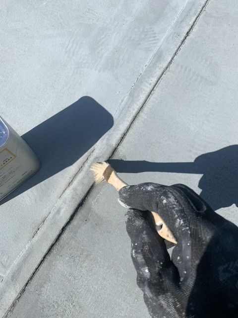 陸屋根塗装 補修