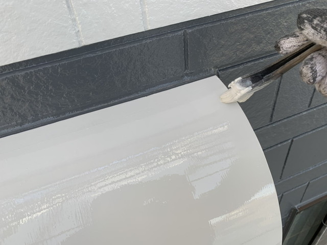 換気扇フード塗装