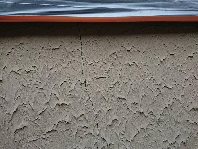 外壁塗装 劣化 外壁 クラック ヒビ