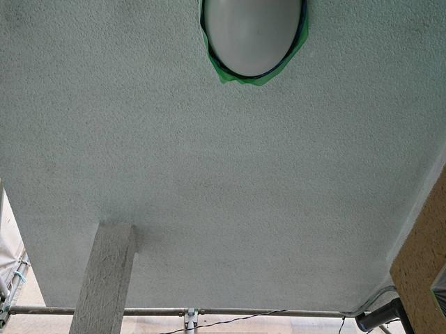 外壁塗装 付帯部塗装 軒天井 下塗り