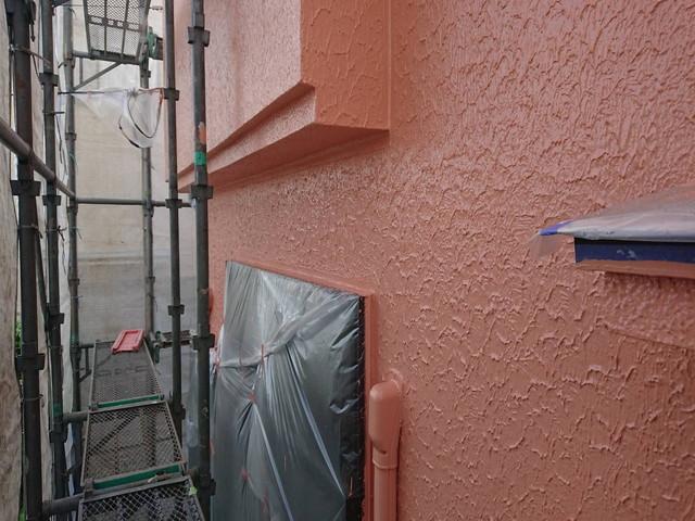 外壁 上塗り後