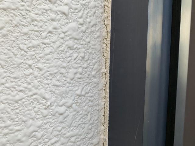 外壁塗装 現地調査 さんとうばん 劣化 コーキング