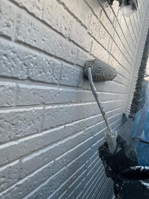 外壁 上塗り