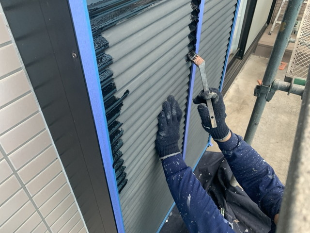 外壁塗装 付帯部塗装 雨戸 戸袋