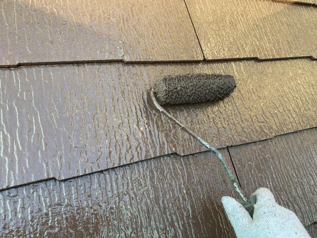 屋根 塗り