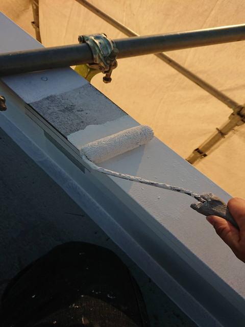 屋根塗装 笠木