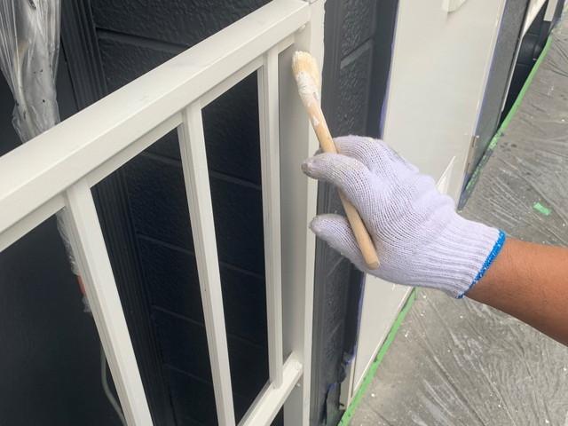 外壁塗装 鉄部塗装 錆止め塗料