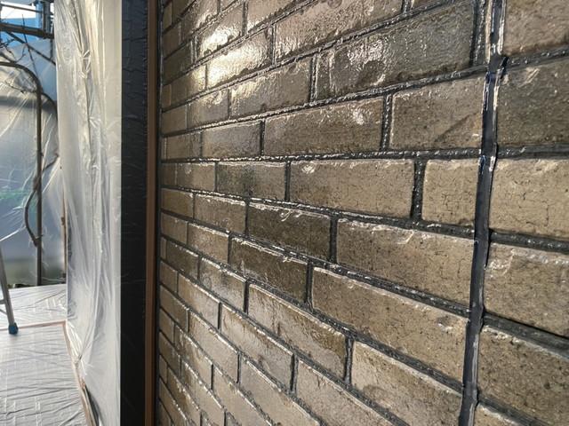 外壁 クリヤ塗装