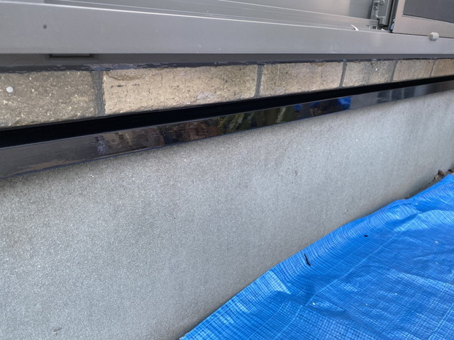 土台水切り 塗装